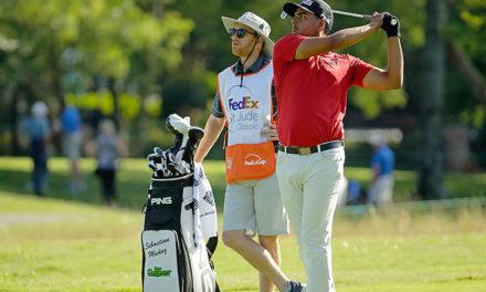 ¡Colíder! Sebastián Muñoz comparte el liderato del FedEx St. Jude Classic en Memphis