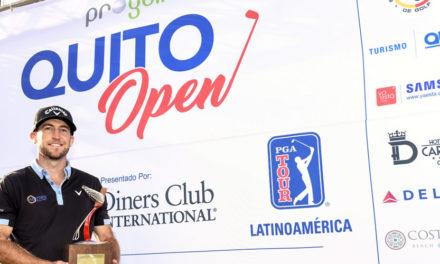 Curtis Yonke se impuso por dos golpes en Quito
