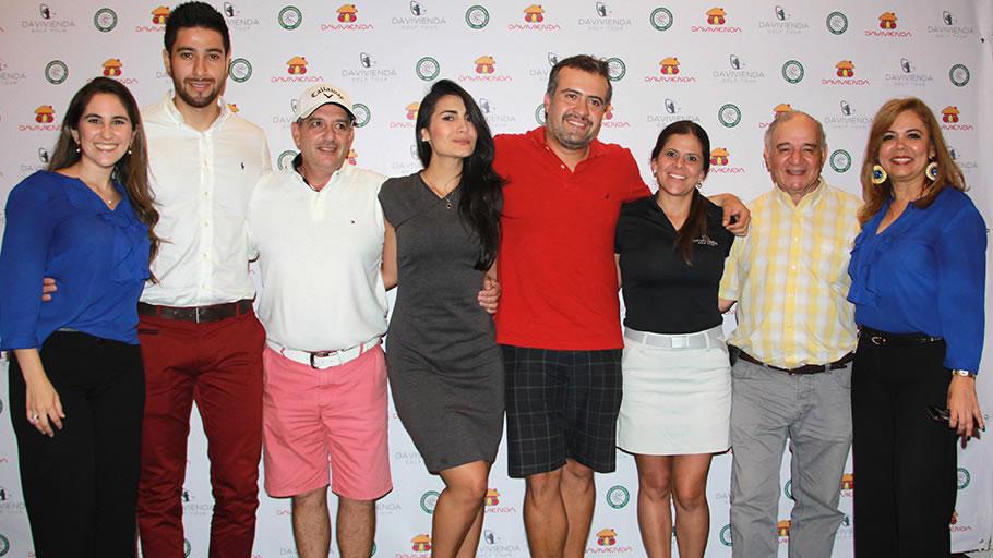 Ganadores segunda parada en el Club Campestre de Bucaramanga
