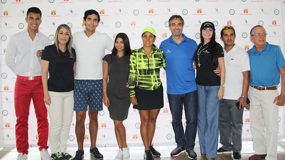 Ganadores tercera parada en el Country Club de Barranquilla