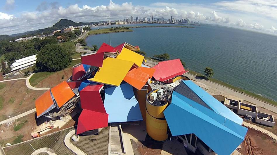 Museo de la Biodiversidad, de Frank Gehry