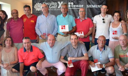 El campo de golf del Señorío de Zuasti se viste de rojo con el X Circuito Cenor – Camino de Santiago