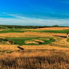 Erin Hills exaltado por sus escenarios naturales en Wisconsin (cortesía USGA)