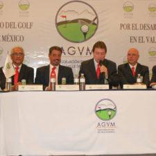 Lic. Raúl López, Lic. Alfredo Ruíz, Ing. Fernando Lemmen-Meyer, Dr. Arturo Villanueva y CP. Luis Scola