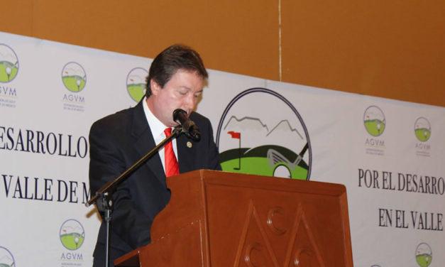 Fernando Lemmen-Meyer seguirá impulsando el golf en la AGVM