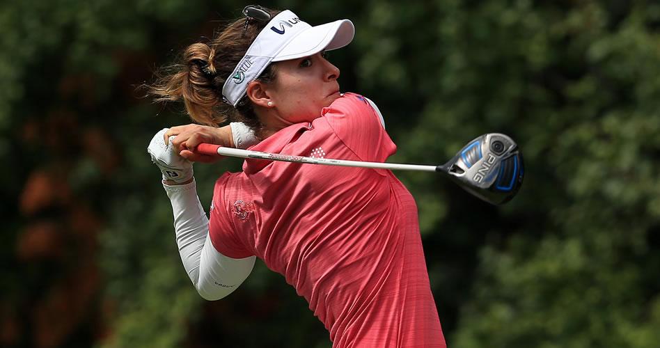Gaby López extiende su buen momento al ubicarse en el undécimo puesto del Women's PGA Championship