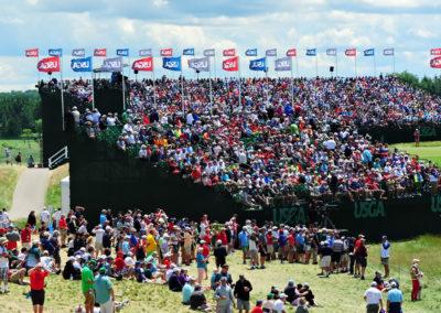 Galería de selección de fotos de la ronda final del 117º US Open en Erin Hills cortesía de la Revista Fairway