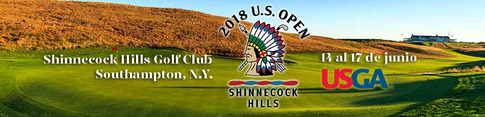 US Open 2018, 14 al 17 de junio. Shinnecock Hills Golf Club
