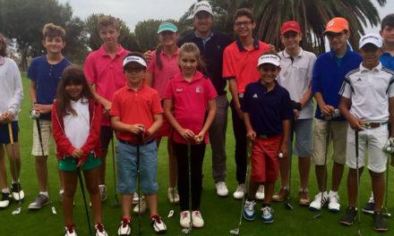 Jamie Steven Clark ganó la competición de18 hoyos del Circuito Infantil de Golf de Lanzarote