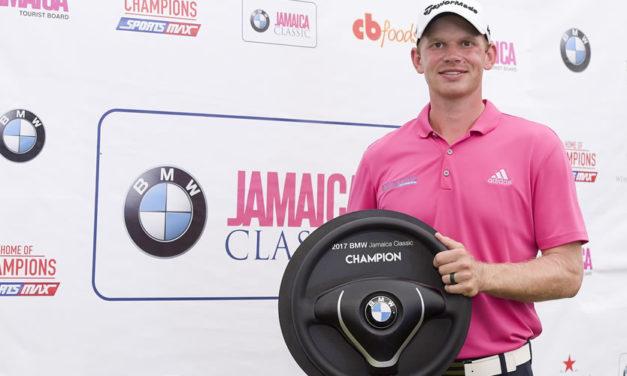 Jared Wolfe lideró de principio a fin en Jamaica