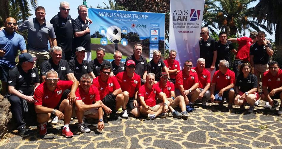 Los periodistas y deportistas ganan en la primera jornada del Manu Sarabia Trophy
