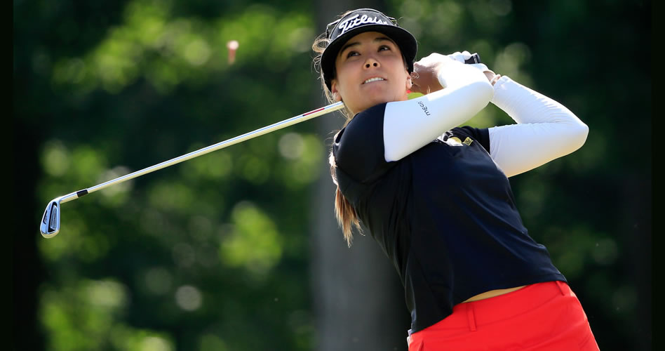 'Mariajo' Uribe, en franco ascenso en el Manulife LPGA Classic