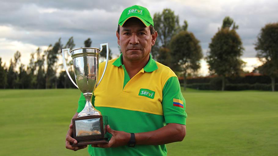 Juan Carlos Bohada se consagró en la categoría de profesionales senior