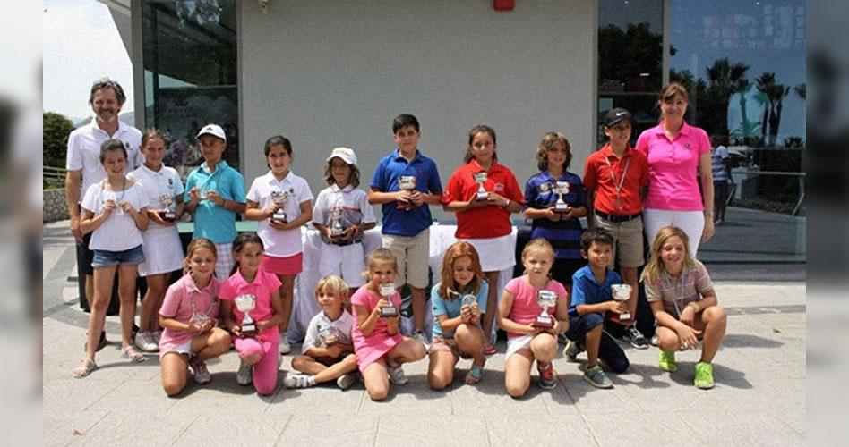 Multitud de pequeños campeones andaluces se reunieron en Golf La Cañada