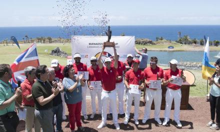 Reino Unido derrota a Canarias en la I Ryder Cup de Buenvista