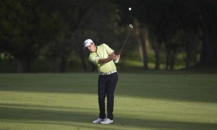 Ricardo Celia es líder en la casa club del Quito Open