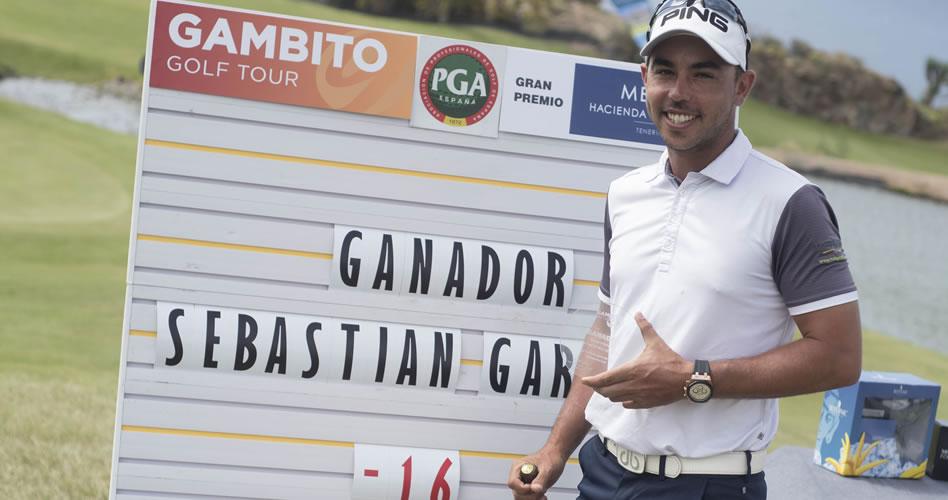 Trío de victorias en 2017 para García