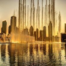 Burj Al Khalifa, Fuente del Baile (cortesía Azmath iqbal)