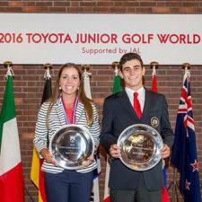 Ganadores de Clasificación Individual del Toyota Junior World Golf Cup