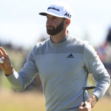 Dustin Johnson (cortesía The Open)