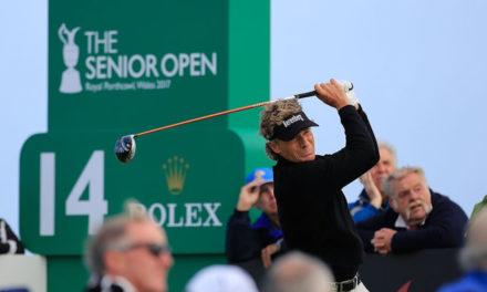 Bernhard Langer es el primer líder del Senior British Open en Gales