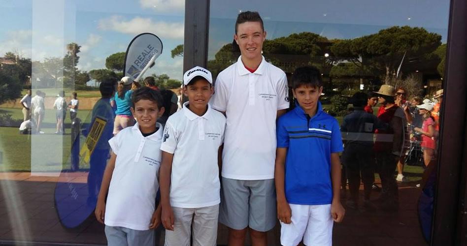 Cuatro golfistas representaron a la base de Lanzarote en el Campeonato de España de Golf