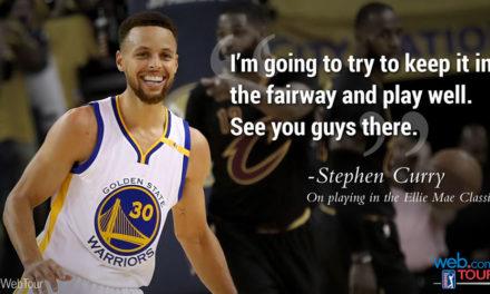 Curry realiza su sueño de competir en evento del PGA