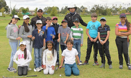 Curso de vacaciones desde esta semana en el Campo Público de Golf en Bogotá