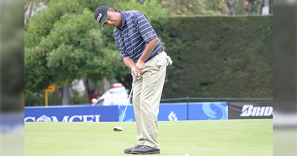 Eduardo Herrera falló el corte en el U.S. Senior Open