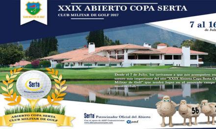 El Abierto 'Copa Serta – Club Militar de Golf' abre fuegos desde este viernes