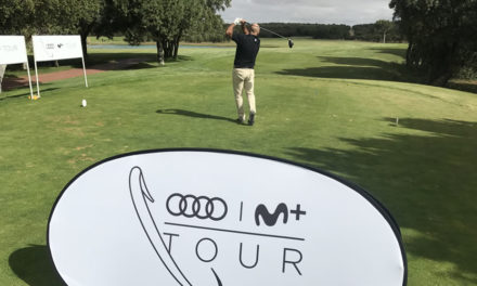 El Audi Movistar + Tour disputa en Golf Lerma su novena prueba del calendario 2017