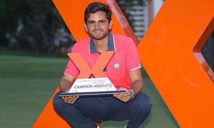 El chileno Tomás Gana se alzó con el título de la Copa Fortox Bucaramanga 2017