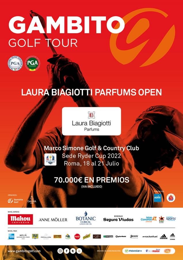 El Gambito Tour se internacionaliza visitando Italia con el Laura Biagiotti Parfums Open