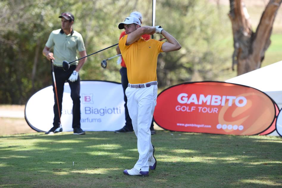 Antonio Hortal durante el torneo italiano del Gambito Golf