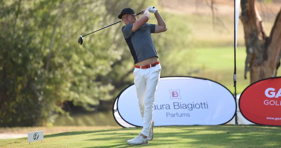 El sueco Mathias Johansson lidera el torneo italiano del Gambito Golf