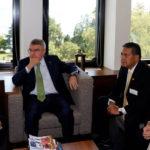 Encuentro entre el Comité Olímpico Venezolano y el Comité Olímpico Internacional