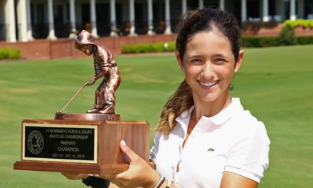 Fierro graduada con honores en Pinehurst No. 2 al ganar el North & South Championship