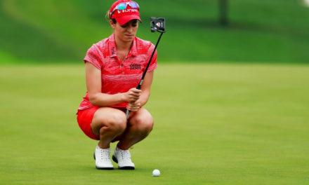 Gaby López pone su nombre entre las 15 mejores de un suspendido US Women's Open