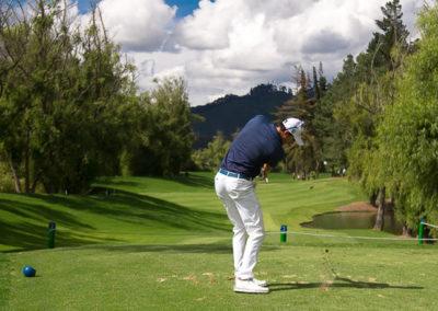 Diego Velásquez se impuso en el XXIX Abierto de Golf 'Copa Serta Club Militar' 2017