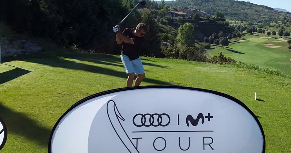 Gorraiz acoge una nueva prueba del Audi Movistar+ Tour