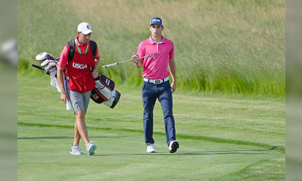 Gran inicio de Joaquín Niemann este jueves en el Greenbrier Classic del PGA Tour