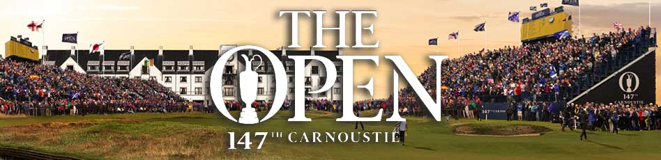 147° Open Championship. Carnoustie Golf Links. 19 al 22 de julio