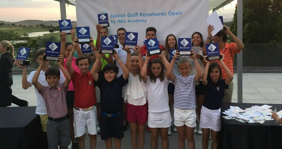 III edición del Junior Golf Retamares Open by IMG Academy del 8 al 9 de julio
