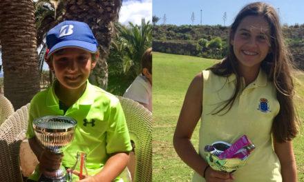 Isaac Puerto y Aitana Ramos, nuevos campeones de Canarias de Golf
