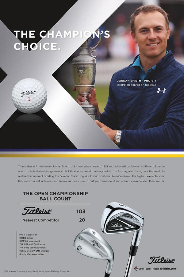 Jordan Spieth, Open Champion