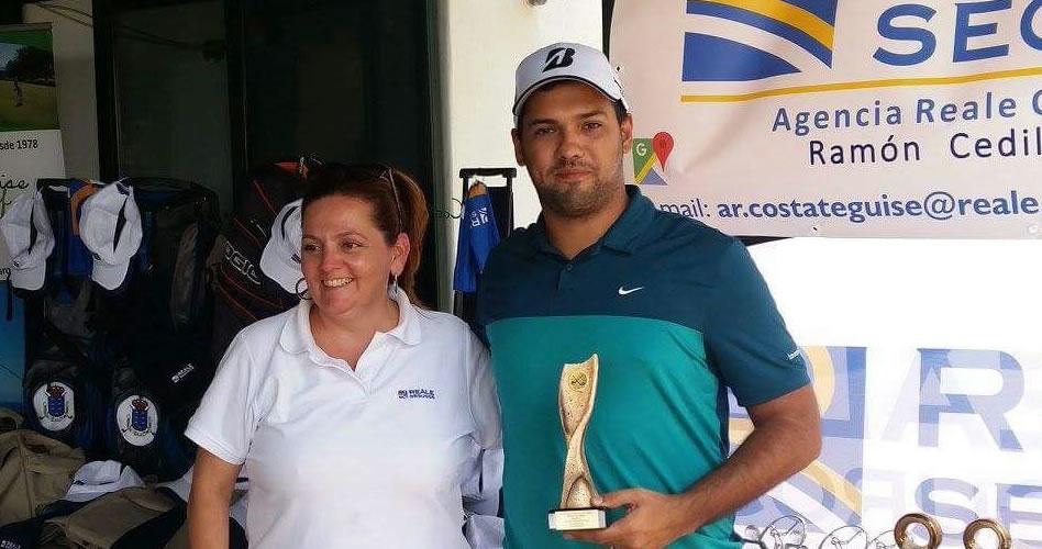 Jornada entretenida en el II Torneo REALE Seguros en Costa Teguise Golf