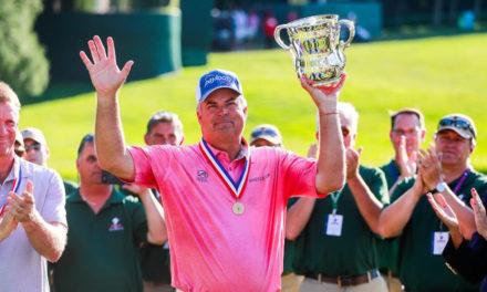 Kenny Perry impone su gran golf para triunfar en el US Senior Open; Monasterio finaliza 42°