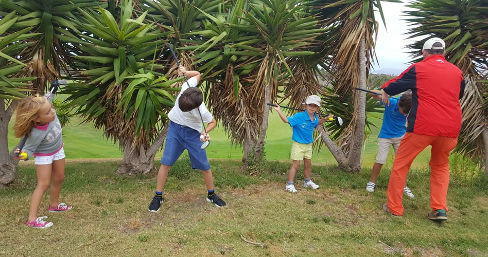 Lanzarote Golf acogió la tercera prueba del Circuito Infantil de Golf de Lanzarote