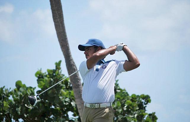 Juan José Guerra es de las principales promesas del golf juvenil dominicano.