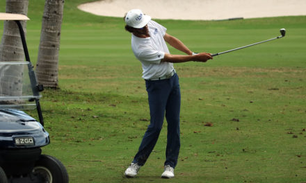 Manuel Torres finalizó jugador alterno en la Clasificación al US Amateur
